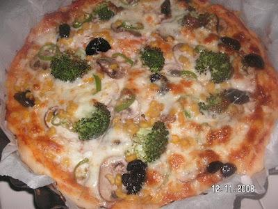 Vejateryan Pizza (İtalyan)