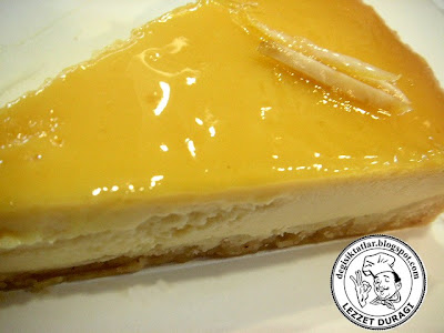 Limonlu Cheesecake (New Yorker Tarzı)