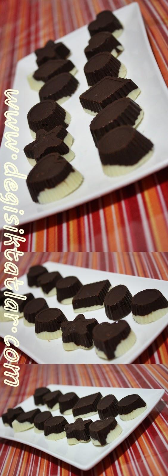 Cevizli Sütlü ve Bitter Çikolata ( CKLT Çikolata Yapımı )