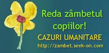 SUSTIN AJUTOARELE! REDA ZAMBETUL COPIILOR!!