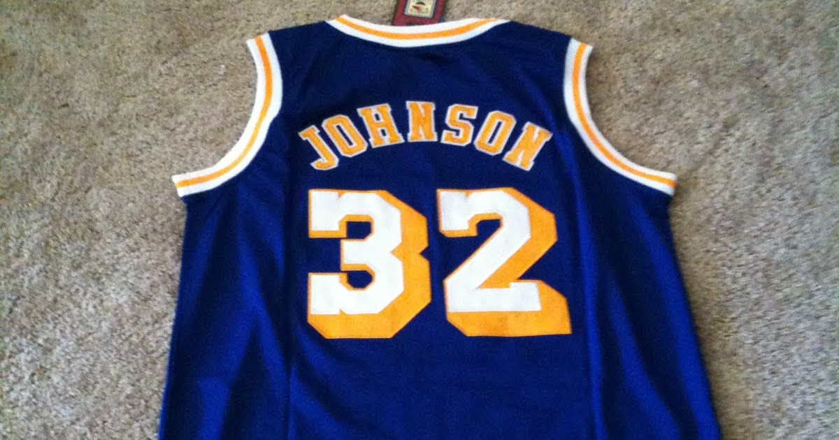 Kam S Sports Apparel Magic Johnson 32 Los Angeles Lakers