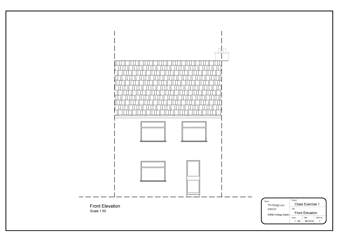 Front Elevation In 2d : Tdl interior design d cad