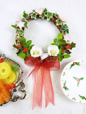 Miniature Christmas Wreath