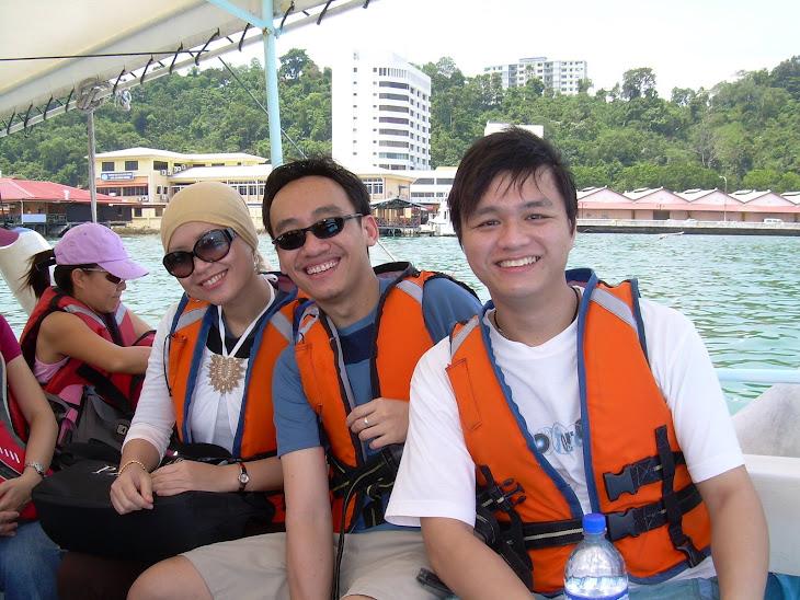 Heading to Pulau Manukan, Sabah