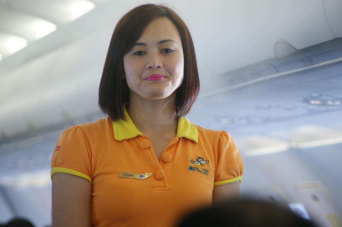 Cebu Pacific Stewardess