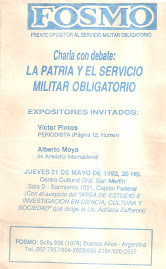 Para hacer ley la suspensin por decreto del Servicio Militar Obligatorio!