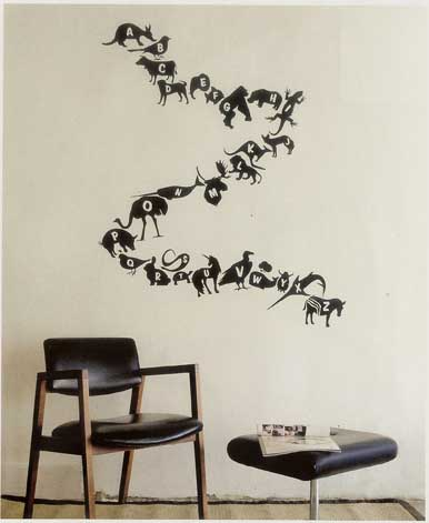interior design musings Wall Decals Proceed With Caution
