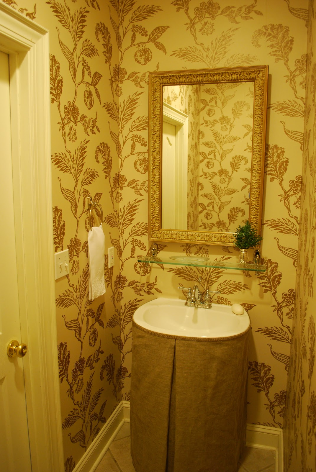 interior design musings: Double Take - Powder Room Makeover