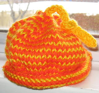 Knitting Pattern Umbilical Cord Hat : My Knitting Basket: new baby hats for March ~ and mastering the new digital c...