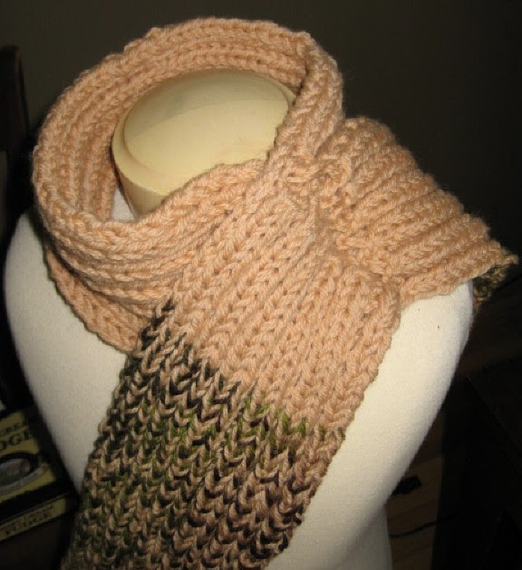 Crochet Stitch M2 : My Knitting Basket: Fusion Scarf