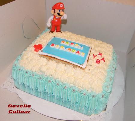 Gâteau Super Mario Bros.