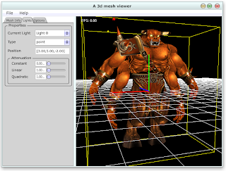 3d mesh viewer c++ JUCE OpenGL