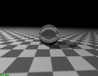 Some more GLSL raytracing results