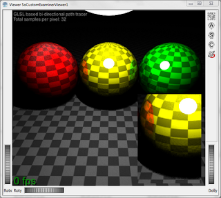 Bi-Directional Path Tracing with 32 samples per pixel