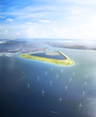 Energia Limpa na Ilha em Copenhague