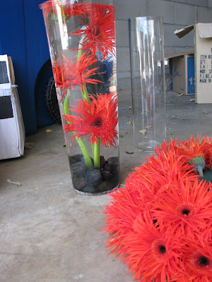 submerged flower centerpieces. Submerged flower centerpieces