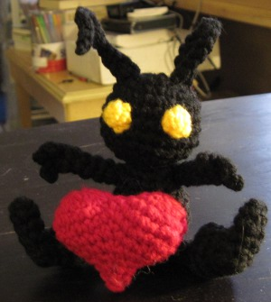 Cosmos and Chaos: Crochet Amigurumi Heartless
