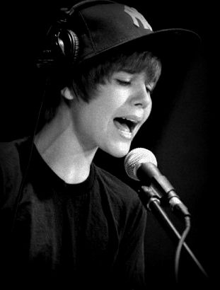 justin bieber singing with you. justin bieber singing happy