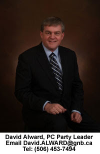 David Alward Leader PC Party