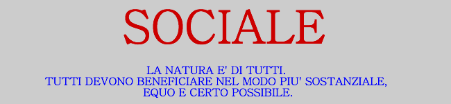 Sociale