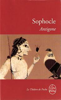 Première de couverture d'Antigone de Sophocle Antigone_Sophocle