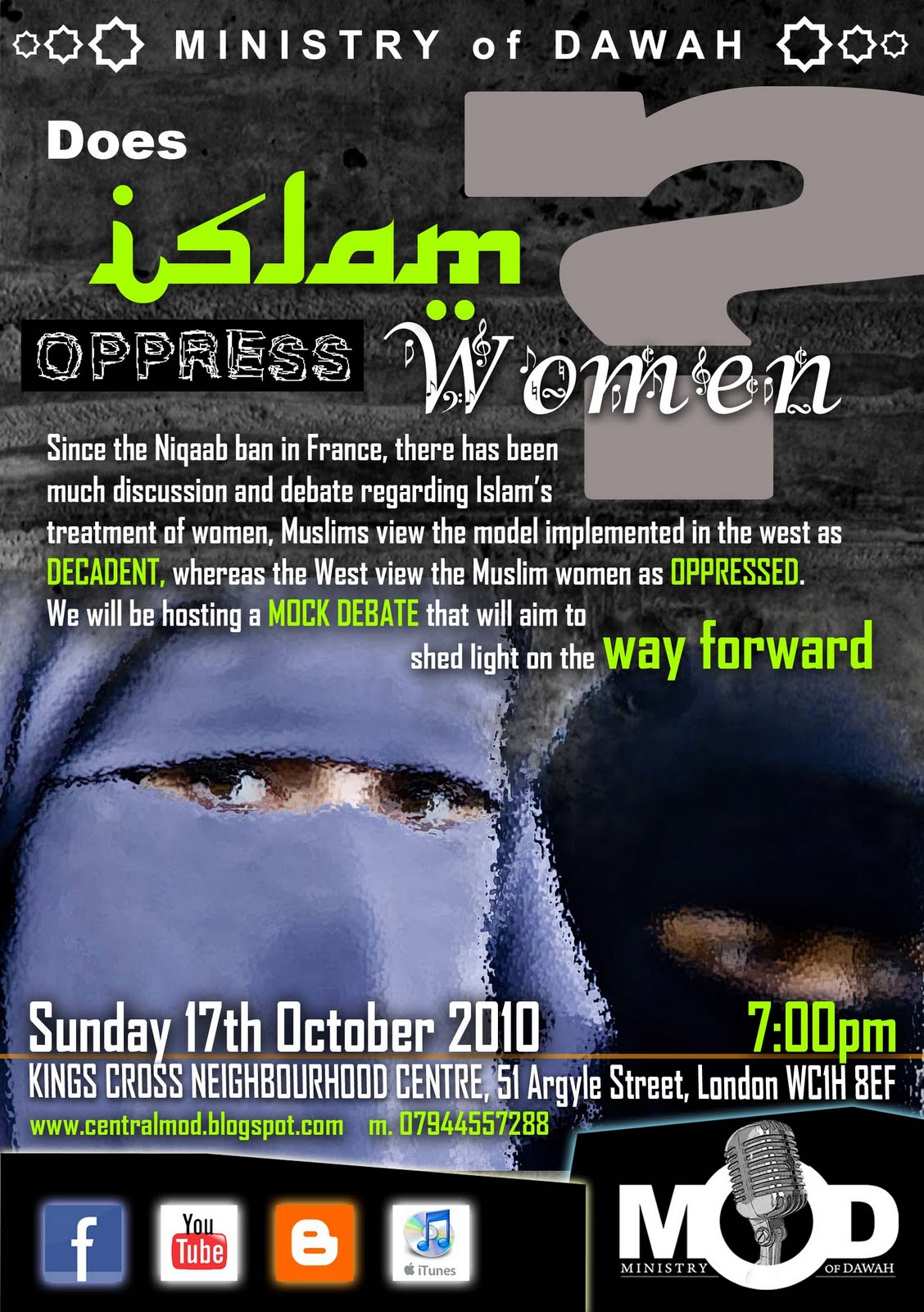 does islam oppress women essay Being modern does not mean being western but it does mean that some degree of  how does islam deal with public  yet helped to oppress palestinians.