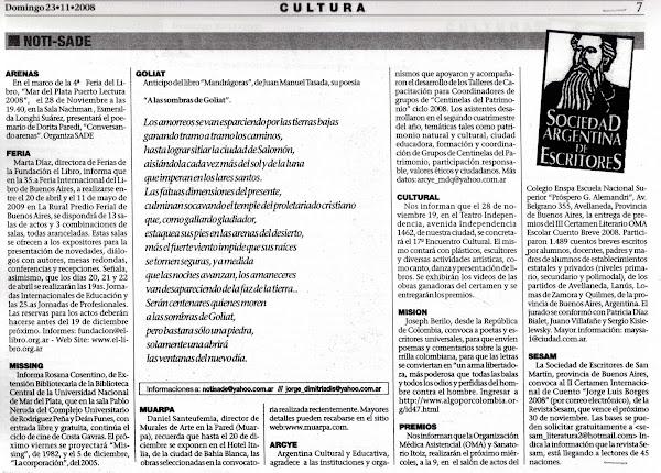 Semanario Noti - SADE
