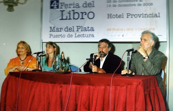 """S.A.D.E. Seccional Atlántica en la 4º Feria del Libro Mar del Plata """"Puerto de Lectura 2008"""""""