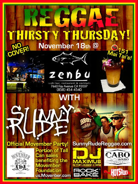 Reggae Thursdays at ZENBU!!