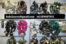 tiendas todo a 2 euros pulseras  30 40 50 60 75 cts unidad venta al por mayor