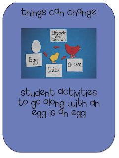 An egg is an egg scott foresman