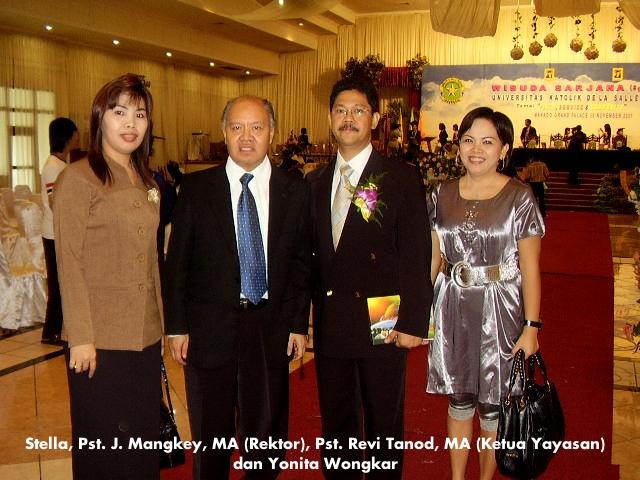 Dgn mantan Rektor & mantan Ketua Yys