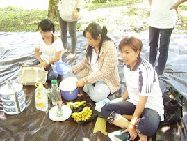 Makan bersama umat wil rohani Sta. Elisabet