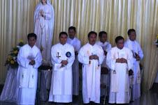 di Misa Syukur 40th Imamat Pst Agus