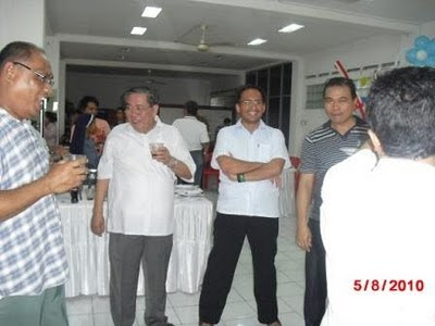bersama rekan-rekan Imam