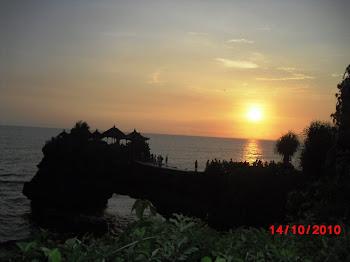 sunset@Tanah Lot Bali