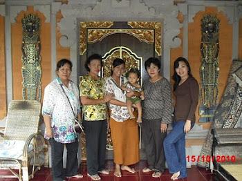 my family@Bali