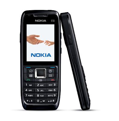 Camera-less Nokia E51