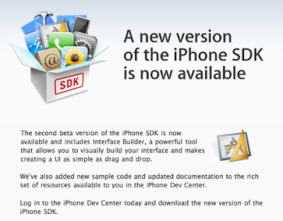iPhone SDK Beta 2