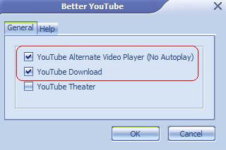 Load youtube quickly with firefox add-on