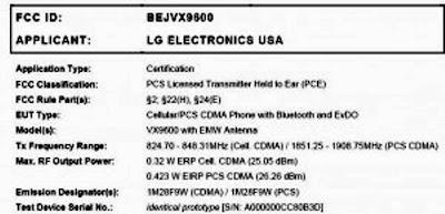 LG VX9600