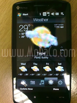 New HTC Touch HD