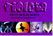 Premio VIOLETA   Este blog MAGICO