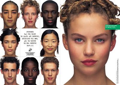 United Colors of Benetton, Direitos Humanos -- Mulheres, Março 1998.