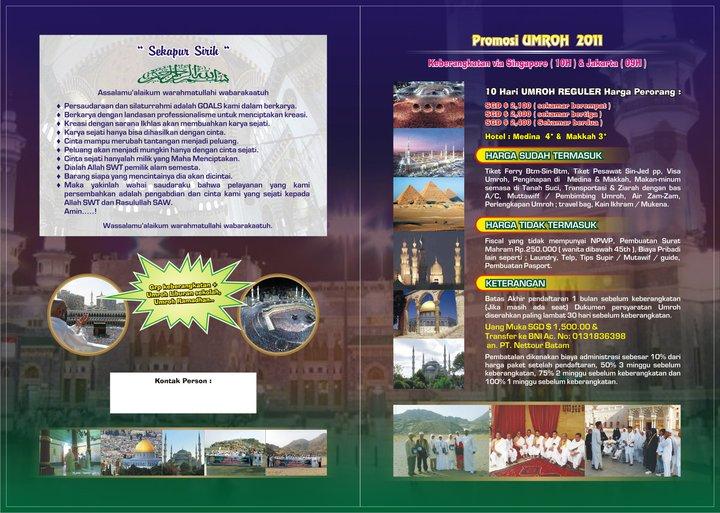 Brosur Umroh 2011