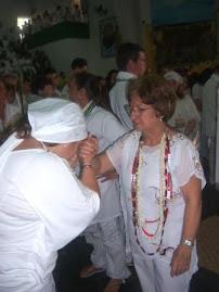 Mãe Yonar e Mãe Iraci de Iançã