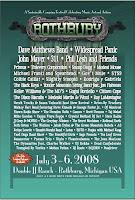 rothburylineup pos Festival Schedule