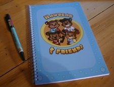 HAWBEAR JOURNAL/SKETCHBOOK  $5.00 each