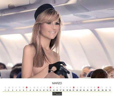 chica de calendario