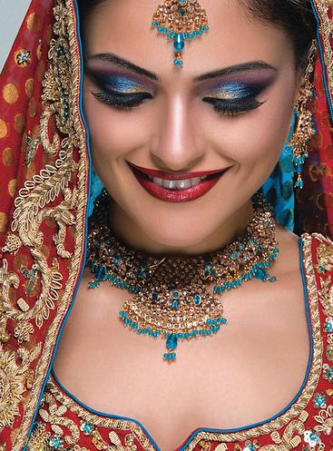 Pakistani Bridal with Latest Jewelry and Makeup 6 - makeup of the day 10 july....